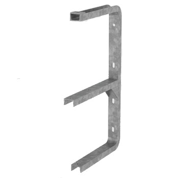 Vertical tap/angle bracket